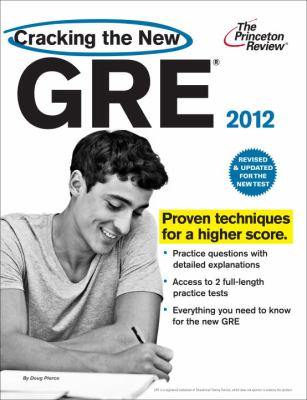 Cracking the New GRE 2012