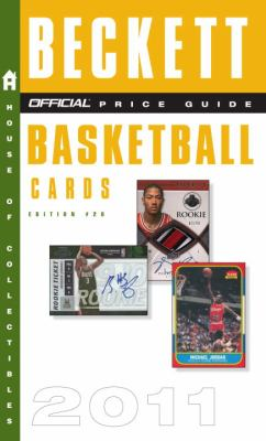 Beckett Official Price Guide to Basketball Cards 2011