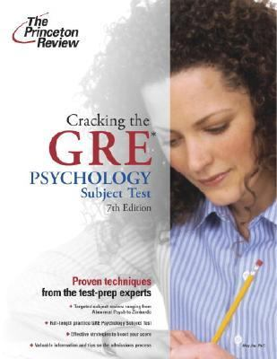 Princeton Review Cracking The Gre Psychology Test