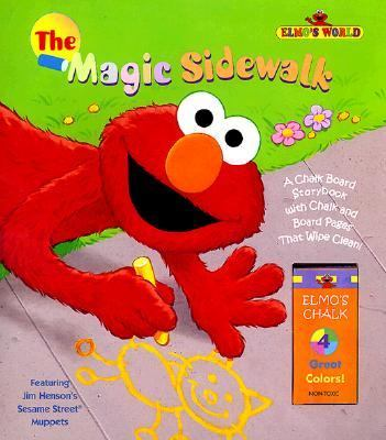 The Magic Sidewalk: Chalk Board Story Book