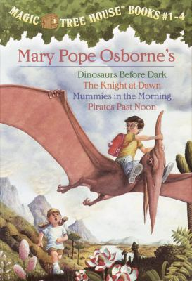Magic Tree House #1-4 Dinosaurs Before Dark/the Knight at Dawn/Muummies in the Morning/Pirates Past Noon