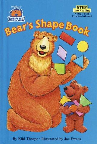 Bear in the Big Blue House: Bear's Shape Book (Step into Reading)
