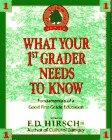 What Your 1st Grader Needs to Know:  Fundamentals of a Good First-Grade Education (The Core Knowledge Series)