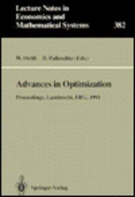 Advances in Optimization: Proceedings (Lecture Notes in Economics and Mathematical Systems)
