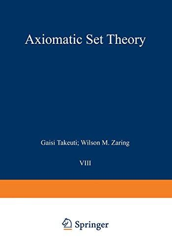 Axiomatic Set Theory (Graduate Texts in Mathematics)