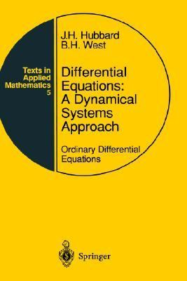 Differential Equations A Dynamical Systems Approach  Ordinary Differential Equations