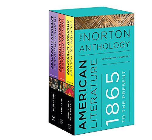 The Norton Anthology of American Literature (Ninth Edition)  (Vol. Package 2: Volumes C, D, E)