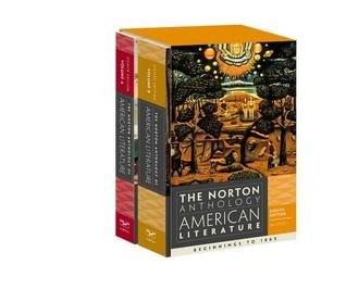 The Norton Anthology of American Literature (Volume A and B)