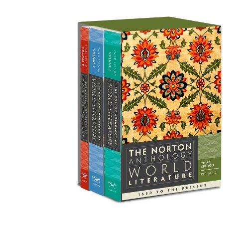 The Norton Anthology of World Literature (Third Edition)  (Vol. Package 2: Vols. D, E, F)