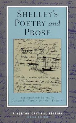 Shelley's Poetry and Prose Authoritative Texts, Criticism