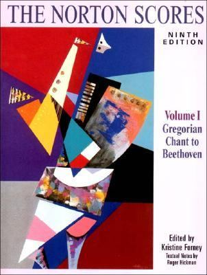 Norton Scores A Study Anthology  Gregorian Chant to Beethoven