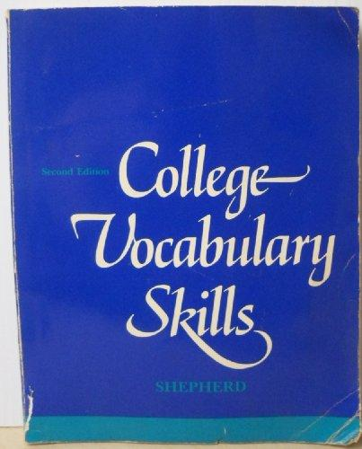 College Vocabulary Skills