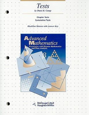 Tests Blackline Masters with Answer Key (Advanced Mathematics Precalculus with Discrete Mathematics and Data Analysis)