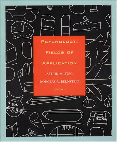 Psychology: Fields of Application