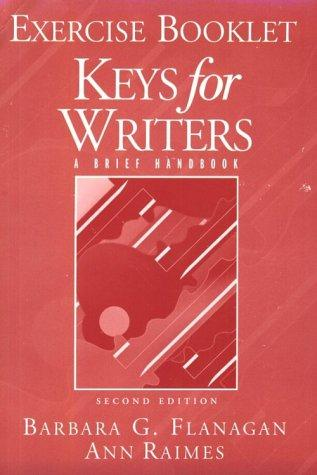 Keys for Writers: Exercise Booklet