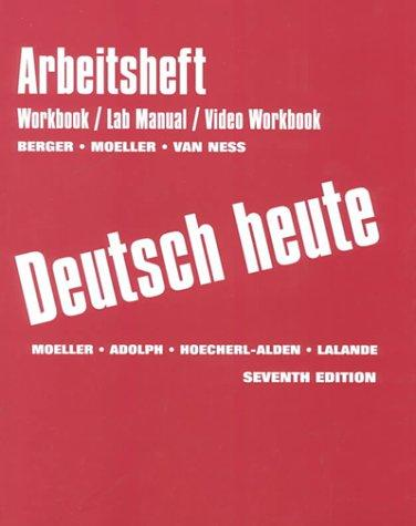 Arbeitsbuch: Workbook And Lab Manual And Video Workbook Seventh Edition