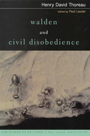 Walden and Civil Disobedience (New Riverside Editions)