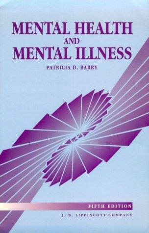 Mental Health and Mental Illness