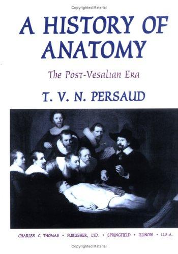 A History of Anatomy: The Post-Vesalian Era