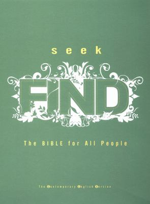 Seek Find The Bible for All People Contemporary English Version