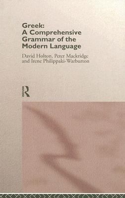 Greek Comprehensive Grammar of the Modern Language
