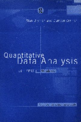 Quantitative Data Analysis With Spss for Windows A Guide for Social Scientists