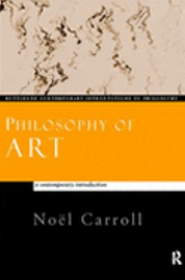 Philosophy of Art A Contemporary Introduction