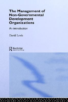Management of Non-Governmental Organizations An Introduction