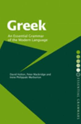 Greek An Essential Grammar of the Modern Language