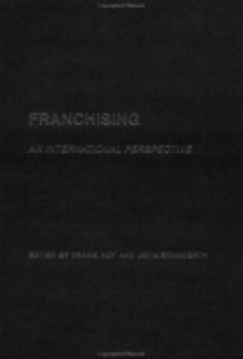 Franchising An International Perspective
