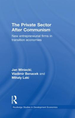 Private Sector After Communism New Entrepreneurial Firms in Transition Economies