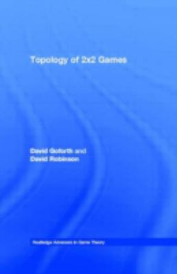 Topology Of the 2 X 2 Games A New Periodic Table