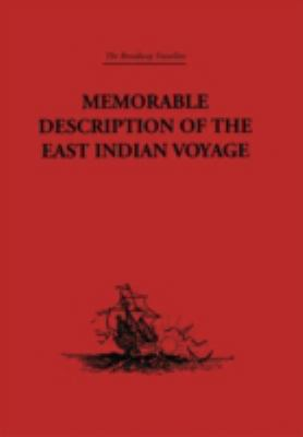 Memorable Description Of The East Indian Voyage 1618-25
