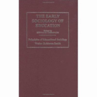 Early Sociology of Education