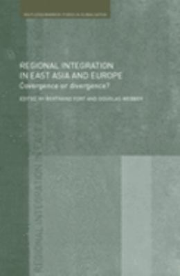 Regional Integration In East Asia and Europe Convergence And Divergence?