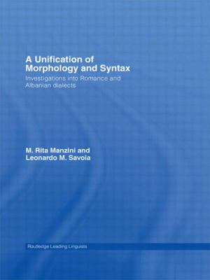 Unification of Morphology and Syntax Investigations into Romance And Albanian Dialects
