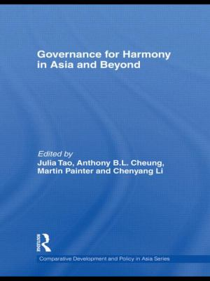 Governance for Harmony in Asia and Beyond (Comparative Development and Policy in Asia)