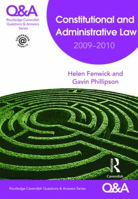 Constitutional and Administrative Law 2009-2010