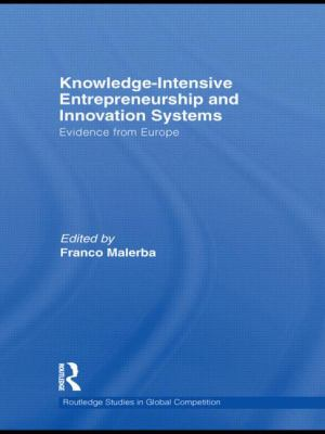 Knowledge-Intensive Entrepreneurship and Innovation Systems: Evidence from Europe (Routledge Studies in Global Competition)