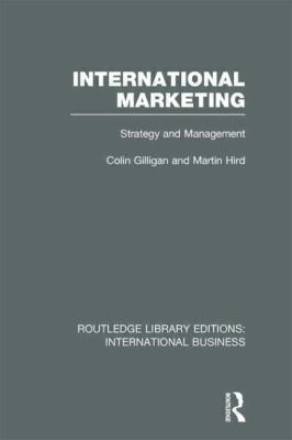 International Marketing (RLE International Business) : Strategy and Management