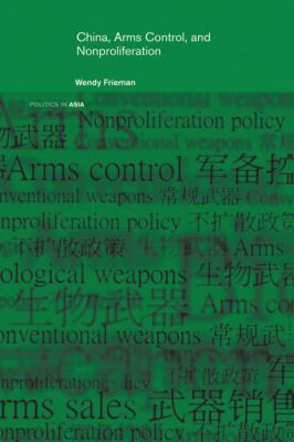 China, Arms Control, and Non-Proliferation