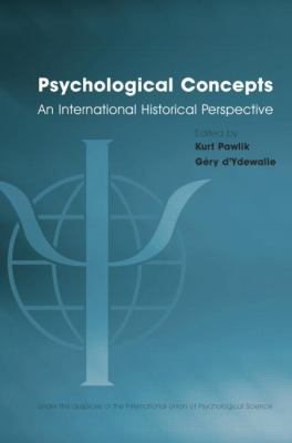 Psychological Concepts : An International Historical Perspective