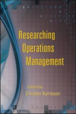 Researching Operations Management