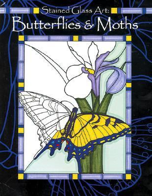 Butterflies and Moths: Stained Glass Art - Tangerine Press - Coloring Book