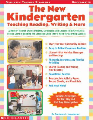 New Kindergarten Teaching Reading, Writing & More