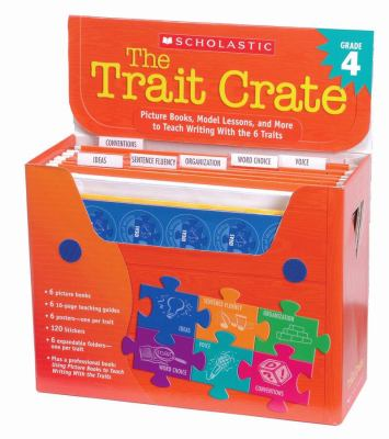 Trait Crate Grade 4 Picture Books, Model Lessons, And More To Teach Writing With The 6 Traits