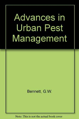 Advances in Urban Pest Management