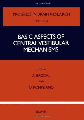 Basic Aspects of Central Vestibular Mechanisms, Volume 37 (Progress in Brain Research)