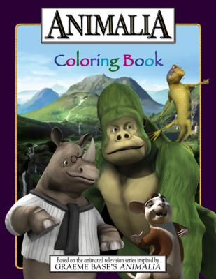 Animalia: Coloring Book