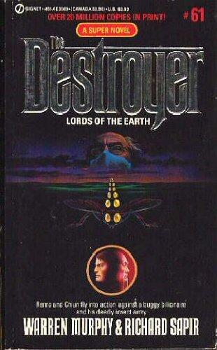 Lords of the Earth (The Destroyer, No. 61)